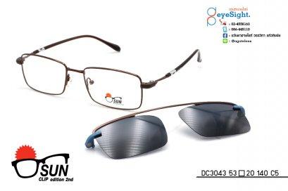 glasses SUN CLIP DC3043 53[]20 140 C5